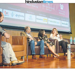 panel discussion on startup synergies in a borderless world at Startup Masterclass, IISER, Pashan,